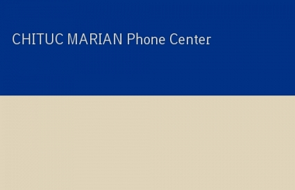CHITUC MARIAN Phone Center
